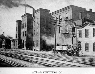 Atlas Knitting Company, circa 1910