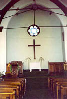 Interior View of Florida Reformed Church