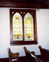 Stained Glass Inside Florida Reformed Church