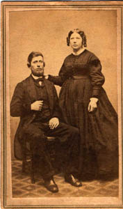 photo of Josiah and Caroline Green Walrath