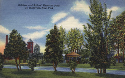 Soldiers & Sailors Memorial Park,  St. Johnsville, N.Y.