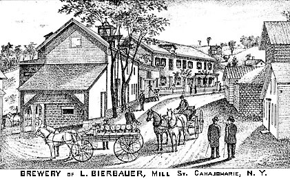 [L. Bierbauer's Brewery, Canajoharie]